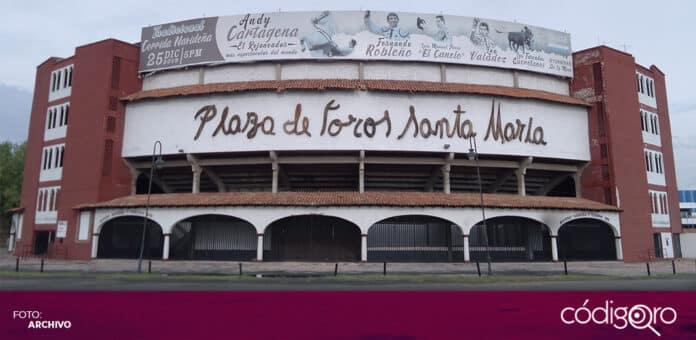 Todavía no ha habido acercamientos para declarar patrimonio cultural a la Plaza de Toros Santa María. Foto: Archivo