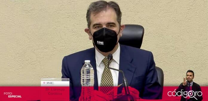 El presidente del INE, Lorenzo Córdova, descartó la necesidad de una reforma electoral. Foto: Especial