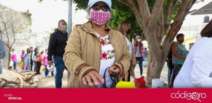 El programa Comedor en tu Calle entrega diariamente mil 200 porciones de alimentos. Foto: Especial