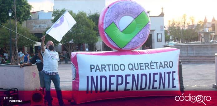 Querétaro Independiente perdería su registro como partido político local. Foto: Especial