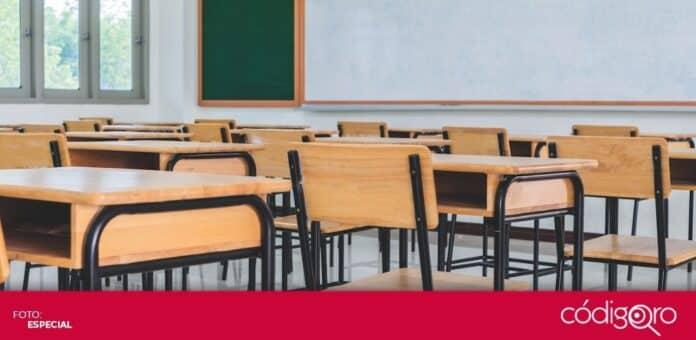 Las clases presenciales se reanudarán en el estado de Querétaro en el siguiente ciclo escolar. Foto: Especial