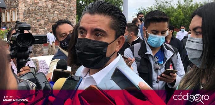 Roberto Sosa Pichardo se reincorporó a sus funciones como presidente municipal de Corregidora. Foto: Especial