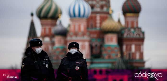 Rusia está sufriendo una nueva explosión de contagios de COVID-19 por la variante Delta. Foto: Especial