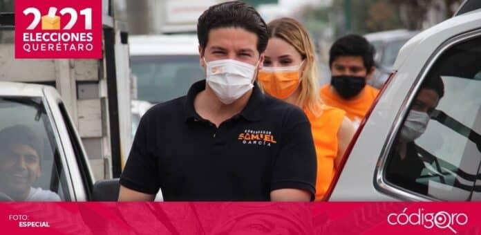 Samuel García, virtual gobernador electo del estado de Nuevo León, fue sancionado por violencia política en razón de género. Foto: Especial