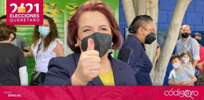 La Sala Superior del TEPJF confirmó que Celia Maya García realizó actos anticipados de campaña. Foto: Especial