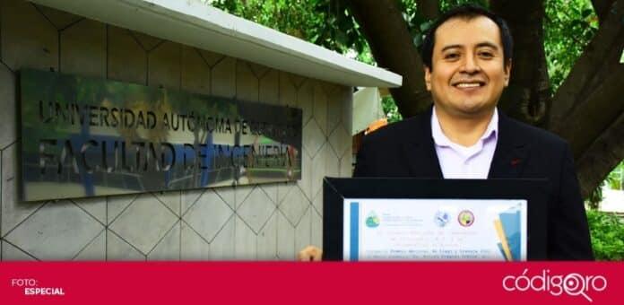 Un profesor investigador de la UAQ fue reconocido con el Premio Nacional de Riego y Drenaje. Foto: Especial