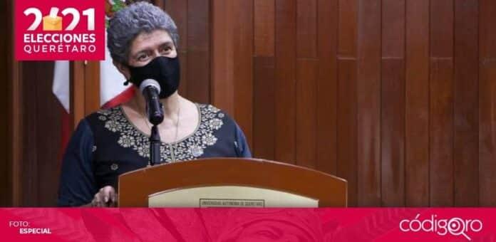 La rectora de la UAQ, Teresa García Gasca, planteará la agenda de la institución a los ganadores de la contienda electoral. Foto: Especial