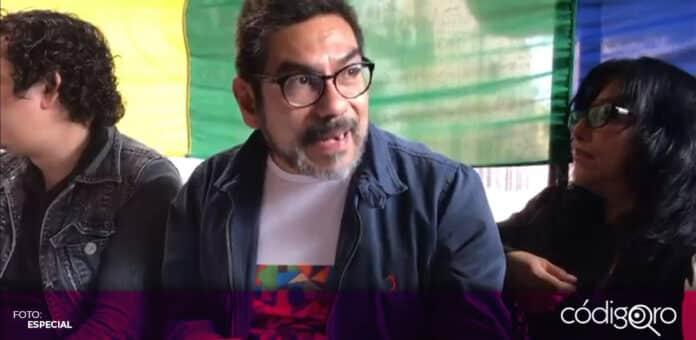 Waltter López González, excandidato a la presidencia municipal de Querétaro, puso fin a su participación política con el PT. Foto: Especial