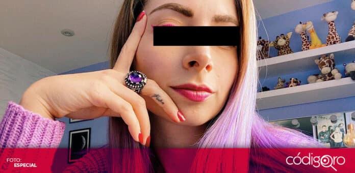 La youtuber YosStop fue detenida por su presunta participación en el delito de pornografía infantil. Foto: Especial