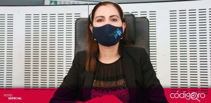 La diputada local independiente, Elsa Méndez, presentó un justificante médico para no asistir a la audiencia inicial por el delito de discriminación. Foto: Especial