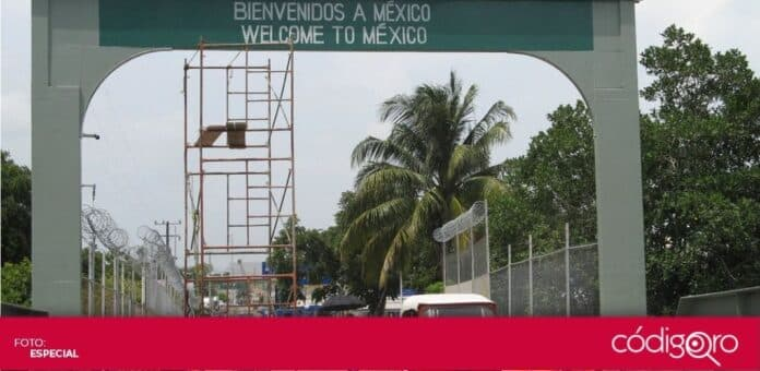 Belice mantendrá cerrada su frontera con México y Belice. Foto: Especial