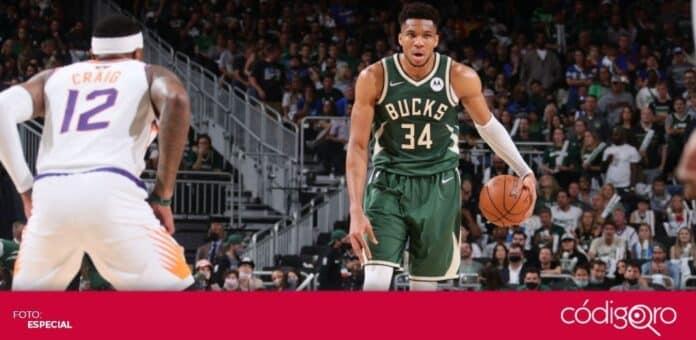 Los Bucks acortaron 2-1 la ventaja de los Suns en las Finales de la NBA. Foto: Especial