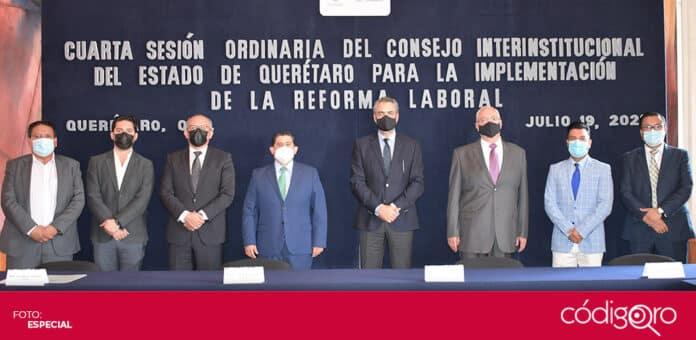Los 16 conciliadores formarán parte del Centro de Conciliación Laboral del Estado de Querétaro. Foto: Especial