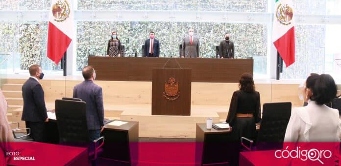 El Congreso del Estado de Querétaro realizará una sesión híbrida, luego de que diputadas locales dieran positivo a COVID-19. Foto: Especial