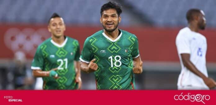La Selección Nacional de México goleó 4-1 a Francia en su debut olímpico en Tokio 2020. Foto: Mexsport