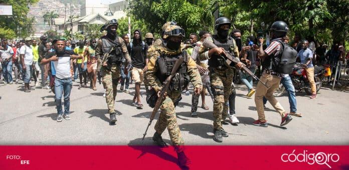 De los 28 sospechosos del asesinato del presidente de Haití, Jovenel Moïse, ya fueron detenidos 17. Foto: EFE