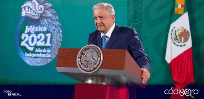 El INE ordenó eliminar la conferencia mañanera de López Obrador del pasado lunes 19 de julio. Foto: Especial