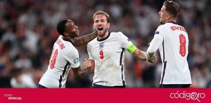 Inglaterra eliminó a Dinamarca en las semifinales de la Euro 2020. Foto: Especial