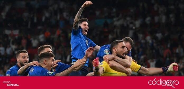 La Selección Nacional de Italia es el campeón de la Euro 2020. Foto: Especial
