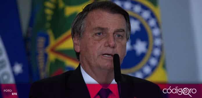 El presidente de Brasil, Jair Bolsonaro, está siendo investigado por corrupción en la compra de vacunas contra COVID-19. Foto: EFE