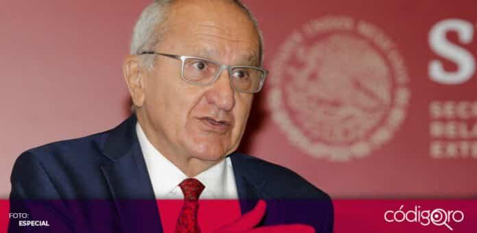 Jesús Seade Kuri fue ratificado como nuevo embajador de México en China. Foto: Especial