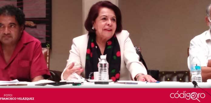 Celia Maya García se refirió a la consulta popular sobre el juicio a los expresidentes de México. Foto: Francisco Velázquez