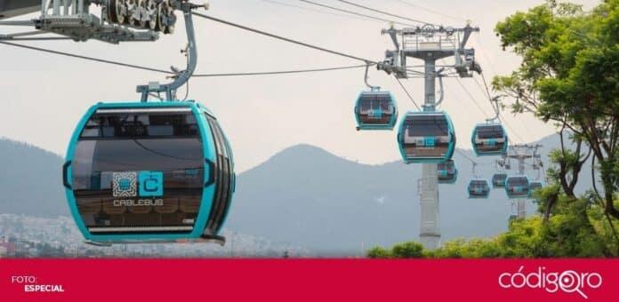 La jefa de Gobierno de la Ciudad de México, Claudia Sheinbaum, inauguró la Línea 1 del Cablebús. Foto: Especial