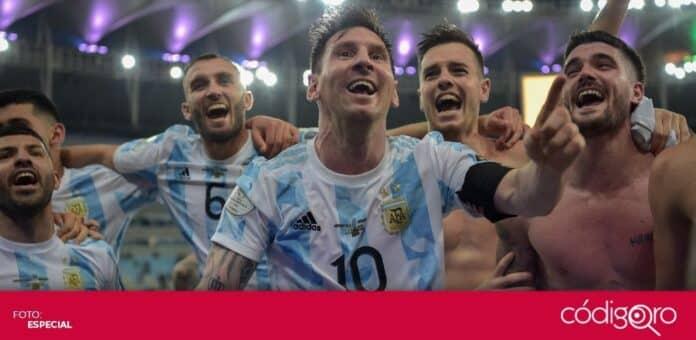 Lionel Messi y Argentina se coronaron campeones de la Copa América contra Brasil. Foto: Especial