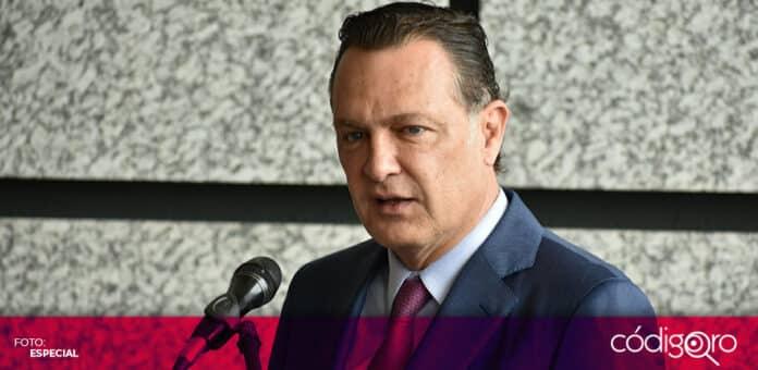 El gobernador electo del estado de Querétaro, Mauricio Kuri González, encabezó la celebración del Día del Abogado. Foto: Especial