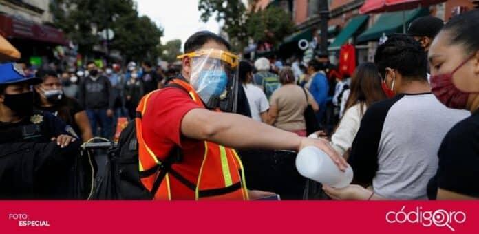 México está en franco incremento de casos y muertes por la pandemia de COVID-19. Foto: Especial