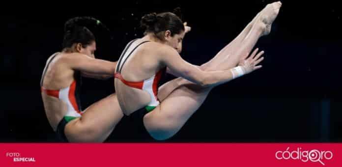 Alejandra Orozco y Gabriela Agúndez ganaron la segunda medalla de bronce para México en Tokio 2020. Foto: Mexsport