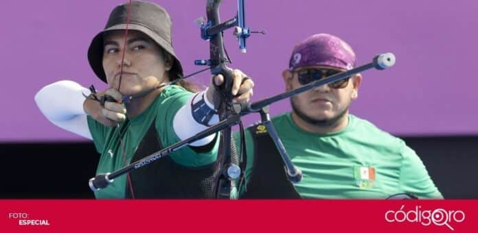 Alejandra Valencia y Luis Álvarez ganan la primera medalla para México en Tokio 2020. Foto: Mexsport