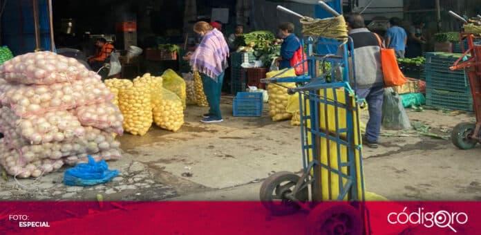 El municipio de Querétaro comenzó una mesa de diálogo con comerciantes de la Central de Abastos. Foto: Especial