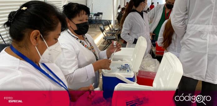 Consideran necesario aumentar la capacidad de vacunación contra COVID-19 en el estado de Querétaro. Foto: Especial