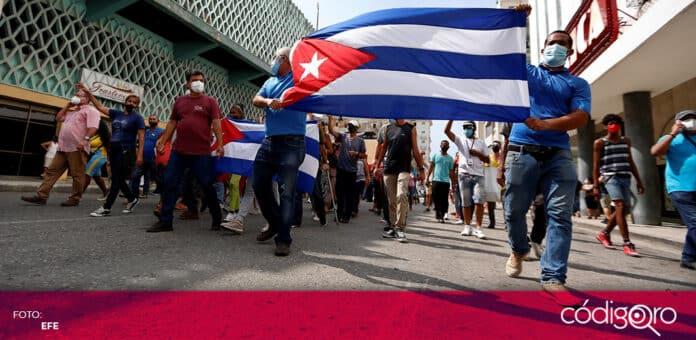 Un hombre de 36 años murió en el marco de las protestas contra el Gobierno de Cuba. Foto: Efe