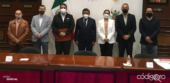 Quedó instalado el Subcomité Técnico para el Regreso a Clases en el estado de Querétaro. Foto: Especial