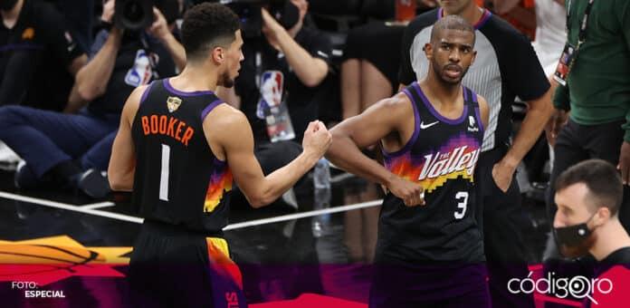 Los Suns derrotaron 118-108 a los Bucks en el juego 2 de las Finales de la NBA. Foto: Especial