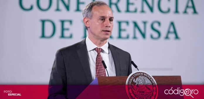 El subsecretario de Prevención y Promoción de la Salud, Hugo López-Gatell, descartó nuevos cierres absolutos de actividades por la pandemia de COVID-19. Foto: Especial