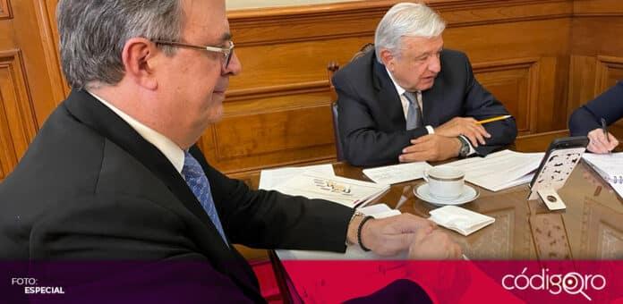 El presidente de México, Andrés Manuel López Obrador, habló por teléfono con la vicepresidenta de Estados Unidos, Kamala Harris. Foto: Especial