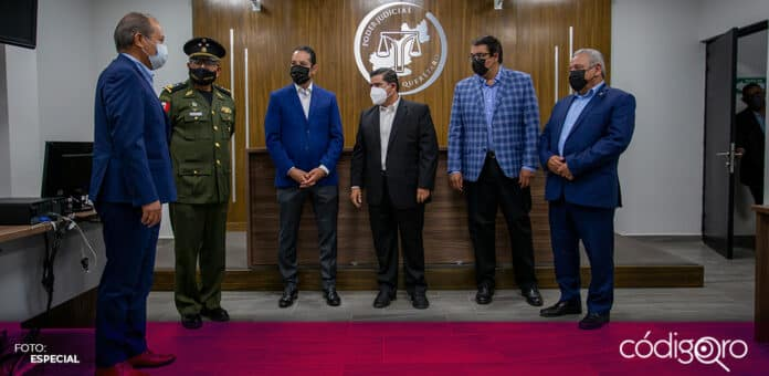 El gobernador de Querétaro, Francisco Domínguez Servién, inauguró la Ciudad Judicial en San Juan del Río. Foto: Especial