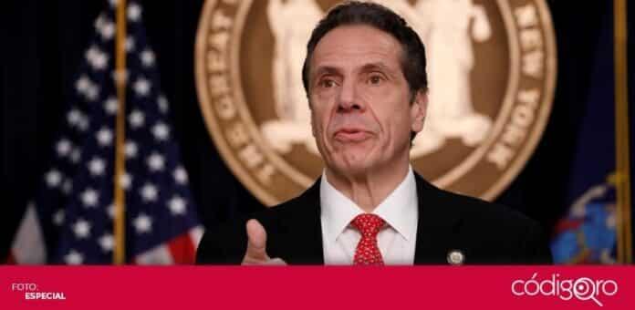 El gobernador demócrata de Nueva York, Andrew Cuomo, enfrenta presiones para que renuncie. Foto: Especial
