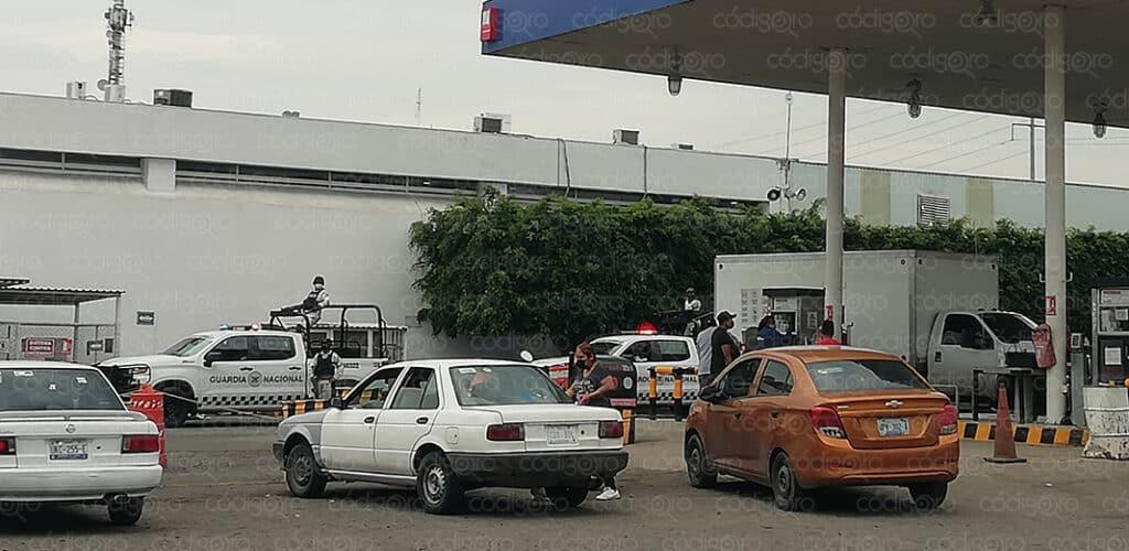 Guardia Nacional acude a estación de gas y manifestación de gaseros