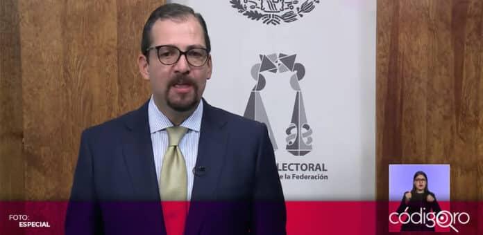 José Luis Vargas Valdez renunció al cargo de presidente de la Sala Superior del TEPJF. Foto: Especial
