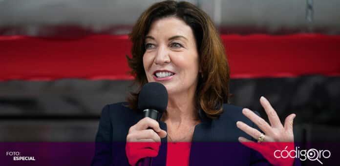 La vicegobernadora Kathy Hochul será la primera mujer que gobernará Nueva York. Foto: Especial