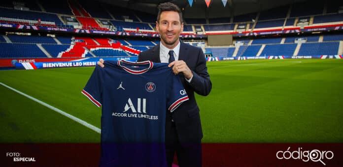 Lionel Messi estará ligado al Paris Saint-Germain durante los próximos 2 años. Foto: Especial
