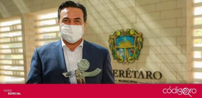 El Ciapem entregó un premio a la administración municipal de Querétaro. Foto: Especial