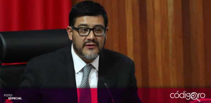 El magistrado Reyes Rodríguez Mondragón renunció a la presidencia del TEPJF. Foto: Especial