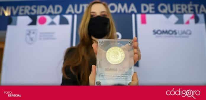 La UAQ entregó medallas y diplomas al Mérito Académico 2020. Foto: Especial