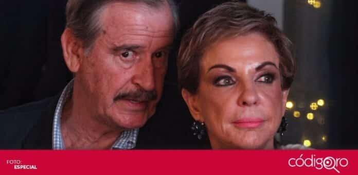 El expresidente Vicente Fox y su esposa Marta Sahagún fueron diagnosticados con COVID-19. Foto: Especial