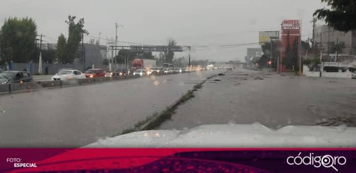 Comerciantes de Fecopse registraron pérdidas de 450 mil pesos como consecuencia de las lluvias. Foto: Especial